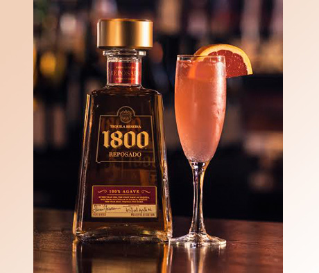 DayBreak cocktail with 1800 Reposado Tequila