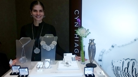 Cynthia Gale, founder, designer of Cynthia G