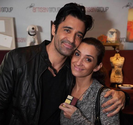 "Gilles Marini of Lifetime's ""Devious Maids"" (Sebastien Dussault) with One Leaf Soap."