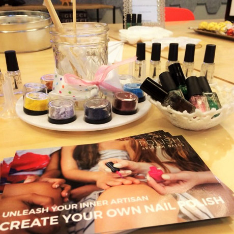 The Make your own Nail Polish Complete Kit