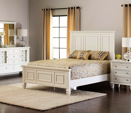 Sandy Beach Bedroom Set from Jerome's Furniture
