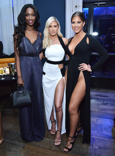 Tia Shipman, Barbie Blank and Olivia Pierson attend LA NUIT by Sofitel Los Angeles at Beverly Hills at Sofitel Hotel on April 20, 2016 in Los Angeles, California. (Photo by Araya Diaz/Getty Images for Sofitel)