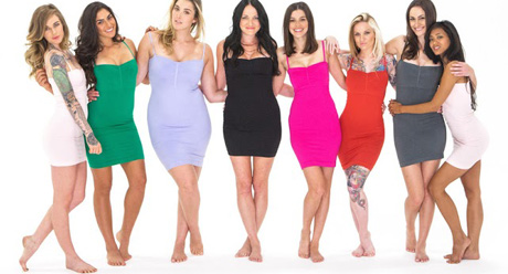 jewel toned shapewear