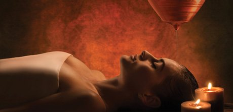 Burke Williams Spa Shirodhara Aurevedic Treatment