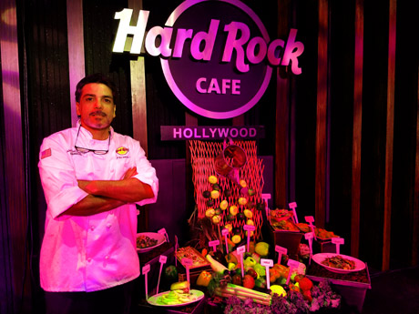 Chef Alex from Hard Rock Universal City Walk