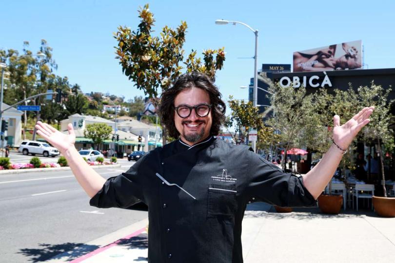 Italian celebrity Chef Alessandro Borghese