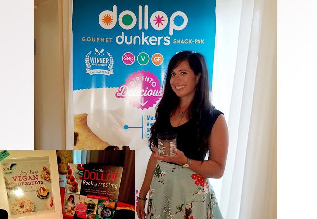 Dollop's founder Heather Saffer