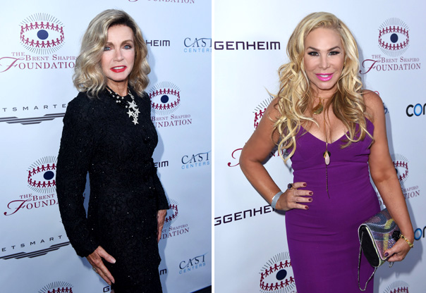 Donna Mills and Adrienne Maloof
