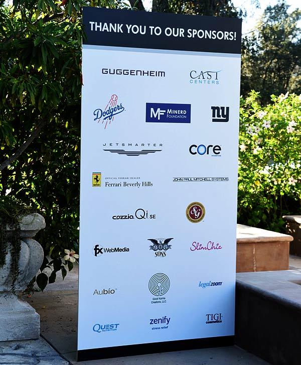 Sponsors of The Brent Shapiro Foundation for Drug Prevention Summer Spectacular