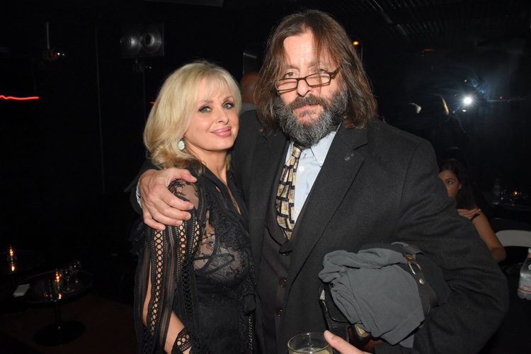 Cathy St. George and Judd Nelson
