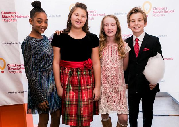 This Is Us_stars Eris Baker, Mackenzie Hancsicsak, Parker Bates & friend - Photo: Albert Evangilista