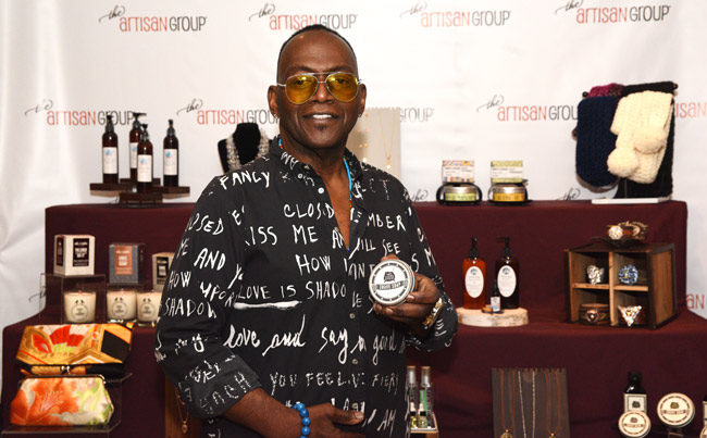 Randy Jackson with Artisan Group