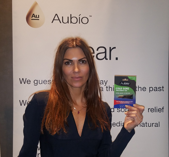 Aubio at the 2018 WOW Creations Oscar Gift Suite