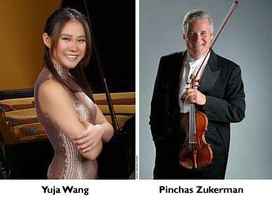 Yuja Wang, Pinchas Zukerman