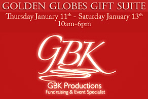 GBK Golden Globes Gift Suite