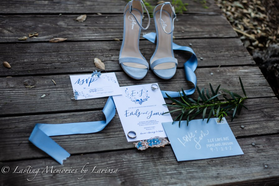 bride shoes, wedding invitation