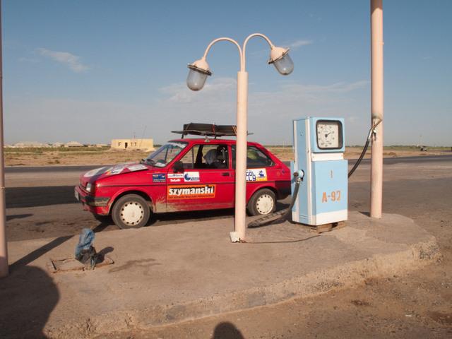 40.Turkmenistan-Tankstelle