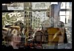 Michel de Broin: Silent Shouts ist eine beeindruckende Fotoserie von Scratch Graffitis