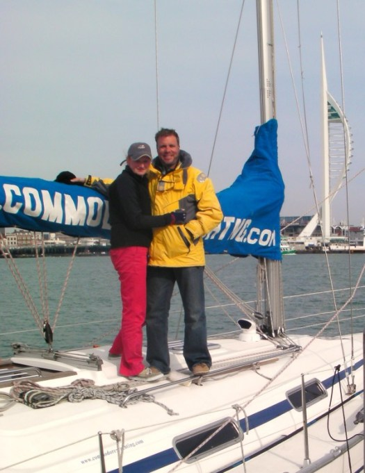 Yachtmaster training is complete, we passed!