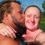 Tadd kissing Lindsay