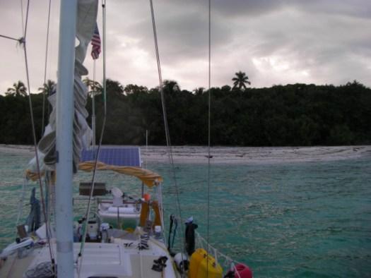 Placencia anchorage
