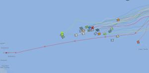 ARC catamarans halfway