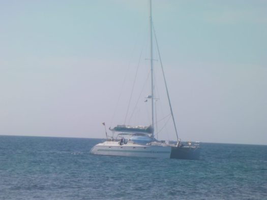 S/V Stess offshore in Belize