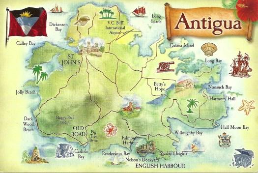 Antigua postcard 1