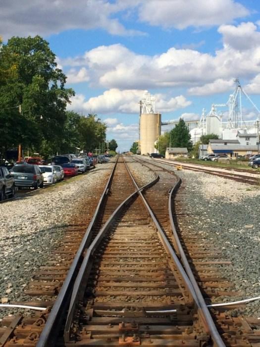 Branston, IN Rail crossing