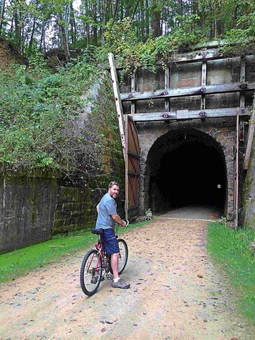 Sparta Elroy Bike Trail tunnel #2