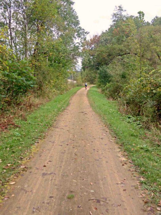 Sparta Elroy bike trail 2