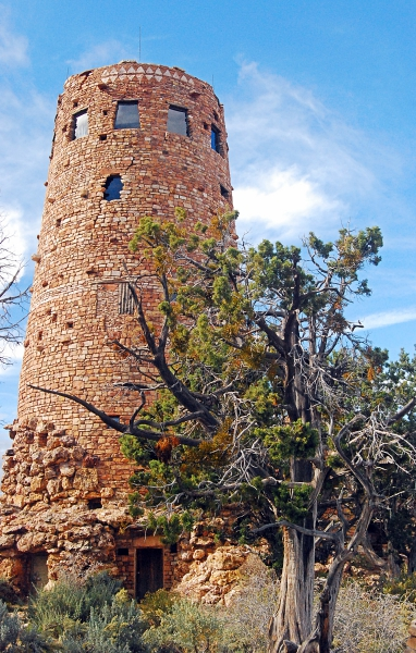 The Watchtower, South Rim, Grand Canyon