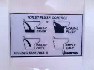 Push button controls = no more pumping!