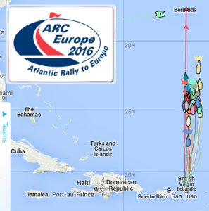 ARC Europe 2016 BVI to Bermuda