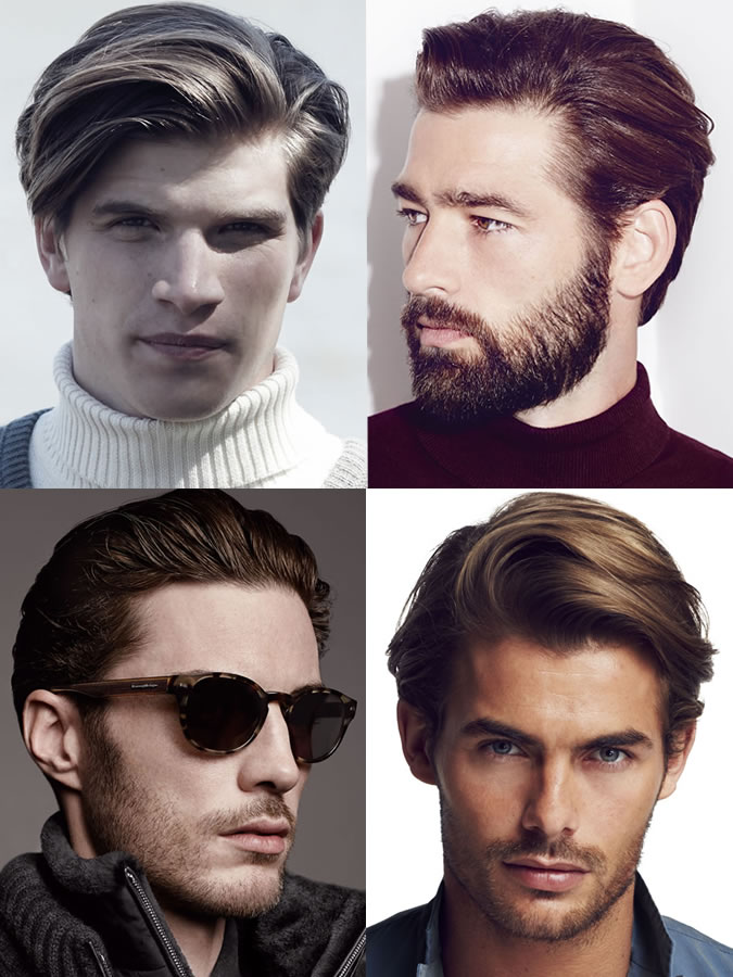 Men's hairstyles/haircuts for Heart Face Shapes