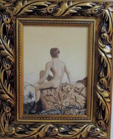 Nude #1, 2010 (Based on a photograph by Wilhelm von Gloeden)