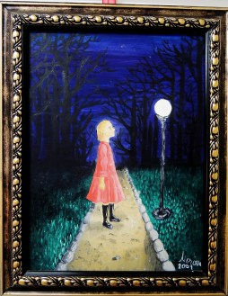 The Lamp, 2009 (painted in Romania after a walk in the park at night)