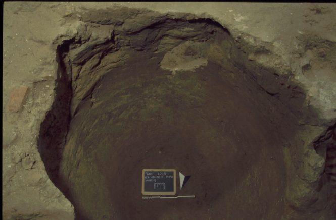 Neviera ritrovata negli scavi del Monte di Pietà di Forlì
