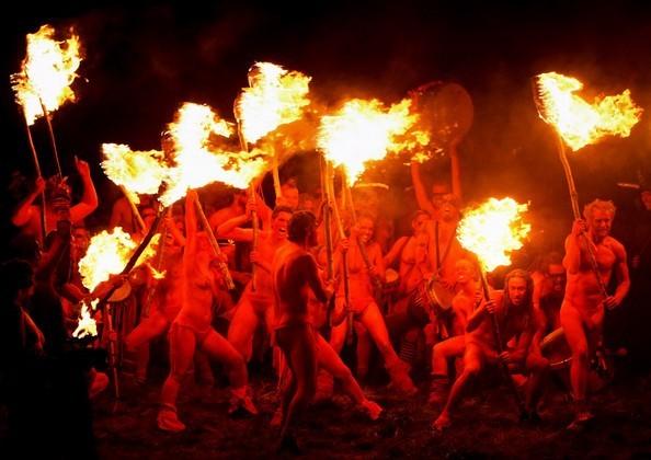 Falò rituali di Samhain