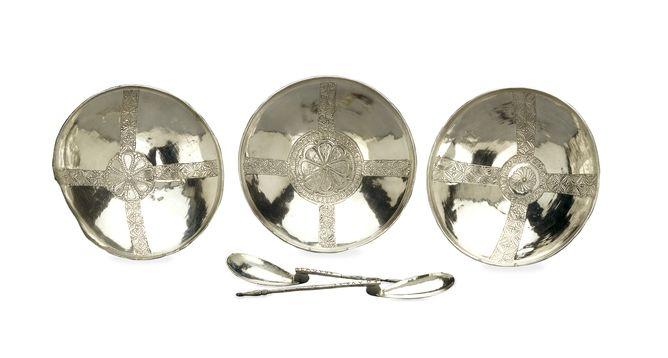 Oggetti d'argento, fabbricazione bizantina