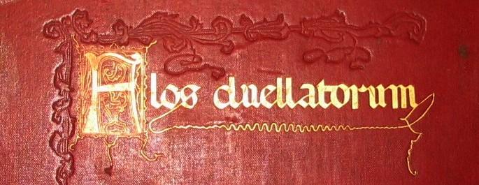 flos duellatorum 1902