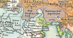 friuli mappa 1400