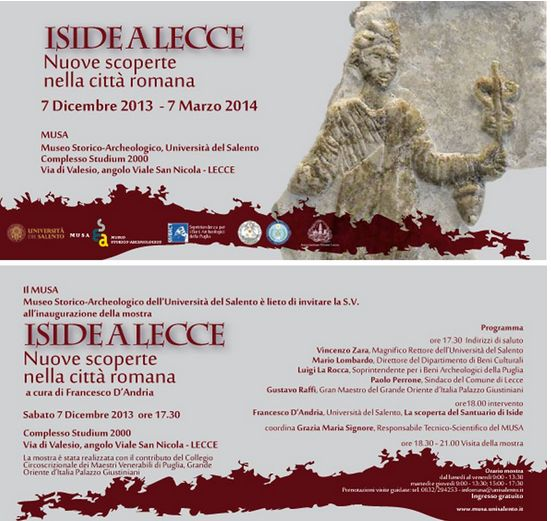 Iside a lecce