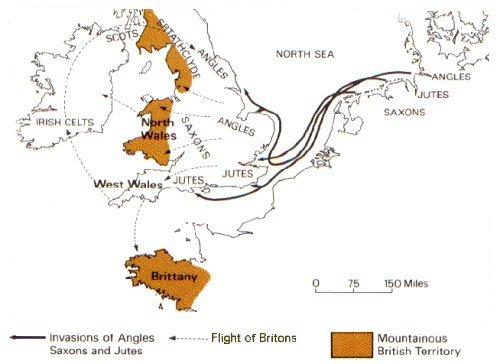 Angli, Sassoni e Juti verso la Britannia