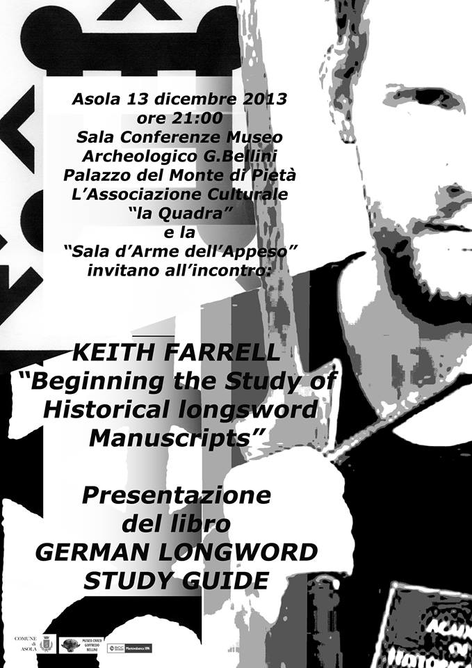 Keith Farrel della Academy of Historical Arts di Edimburgo