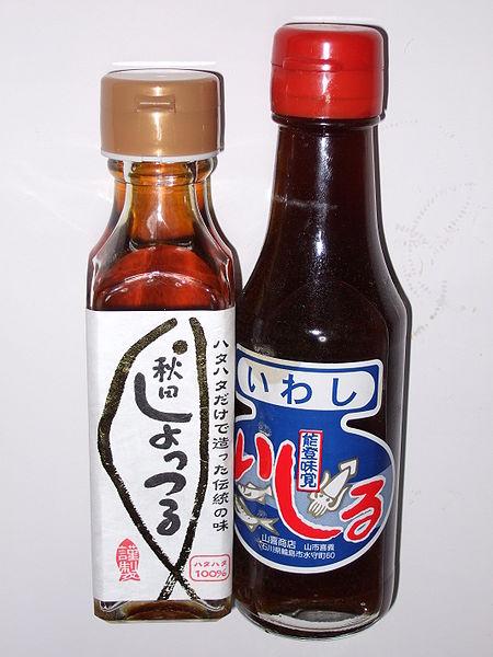 Salsa di pesce giapponese