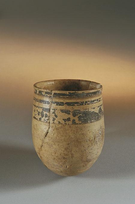Bicchiere con decorazione dipinta XIII-XI secolo a.C. Firenze, Museo Nazionale Archeologico Inv. 93796