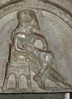 Immagine che tradizionalmente viene riconosciuta come Sverker I di Svezia