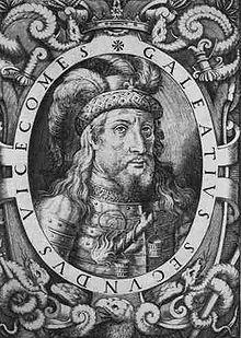 Galeazzo Visconti dal Girolamo Porro, Sommario delle vite de' duchi di Milano, cosi Visconti, come Sforzeschi, Venezia, 1574