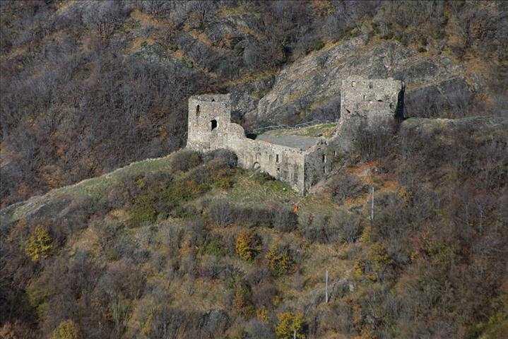 Il castello di Savignone, vicino Genova